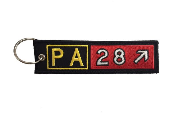 Key Chain: Embroidered PA28