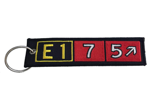 Key Chain: Embroidered E175