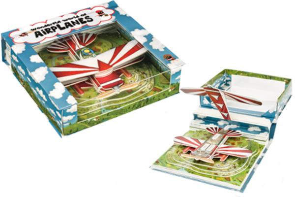 Wonderful World Of Airplanes Book