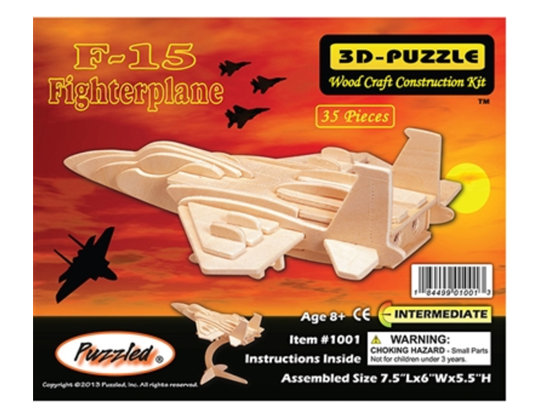 F-15 Fighterplane Puzzle