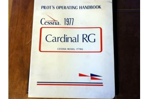 Cessna Aircraft Company 1977 Cessna Cardinal RG Aircraft Owner's Manual p/n D1037-13 *Outlet
