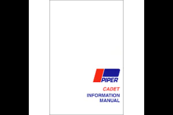 Piper Cadet PA-28-161 Manual