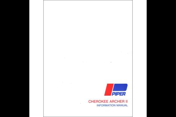 Manual: Piper Archer II