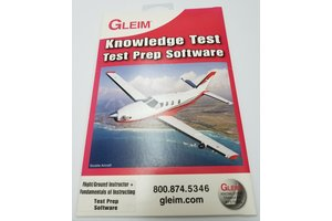 Gleim Flight/Ground Instructor Test Prep Software *outlet