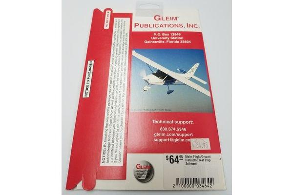 Gleim Flight/Ground Instructor Test Prep Software *outlet