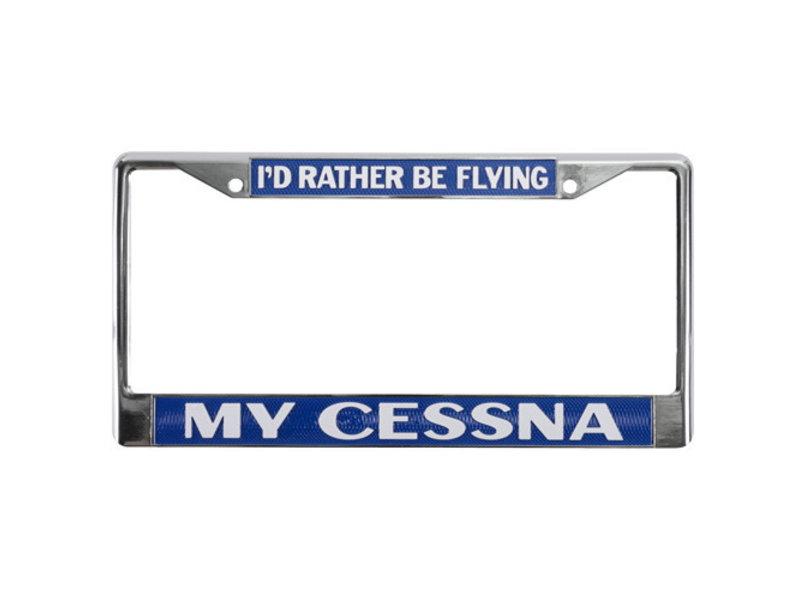 License Plate: Cessna