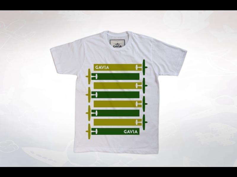 T-Shirt: Modern Plane Lines