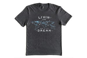 Dare to Fly Apparel T-Shirt: Livin Dream