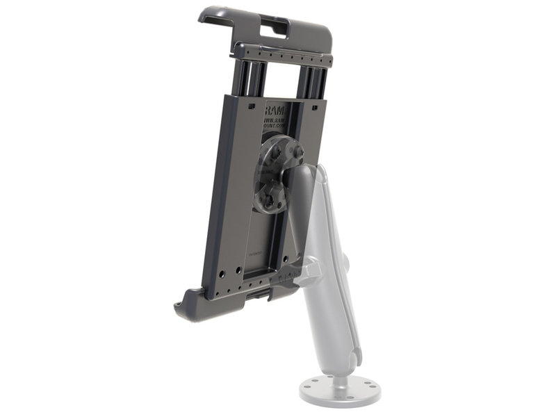 """RAM® Tab-Tite™ Spring Loaded Holder for 8"""" Tablets with Cases"""