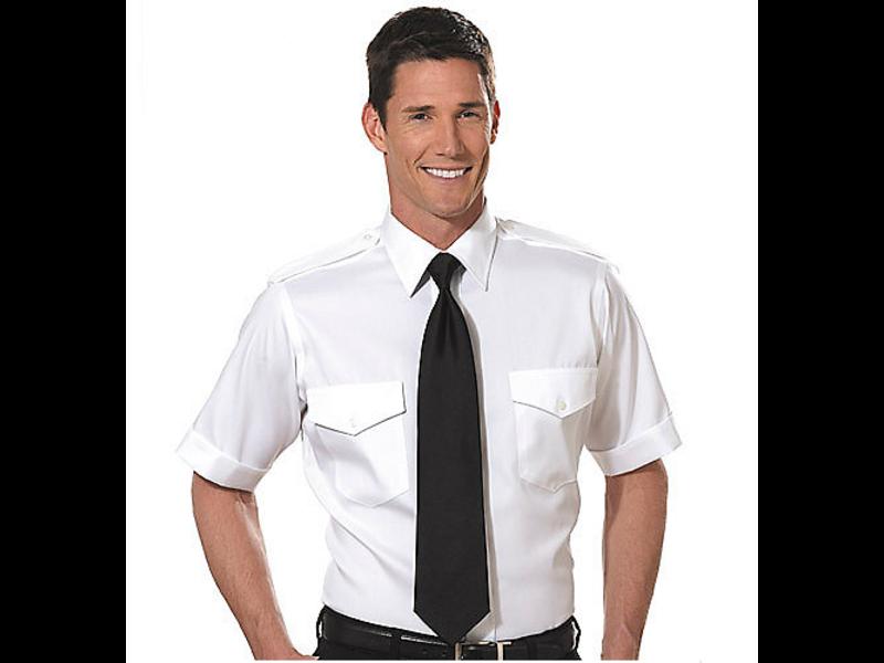 Phillips Van-Heusen Corp Shirt: Aviator SS 100% Cotton Non-Iron 17