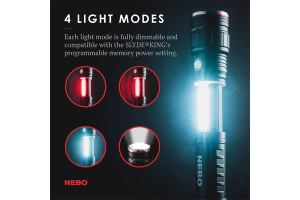 Flashlight: Slyde King Rechargeable