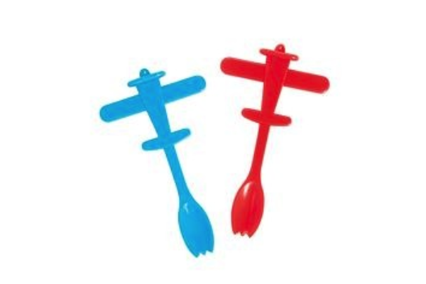 (4PCs)  Airplane Party Spoon