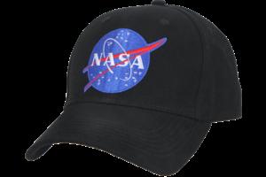 Cap: NASA Logo Low Profile Black Hat