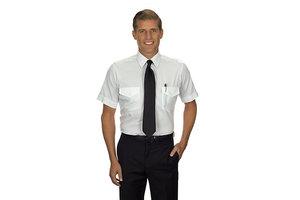 Phillips Van-Heusen Corp Shirt: Pilot SS Wht 14.5