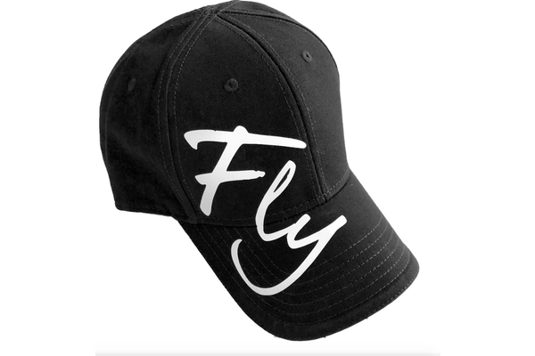Dare to Fly Apparel Hat: DTF Black Fly Signature Cap