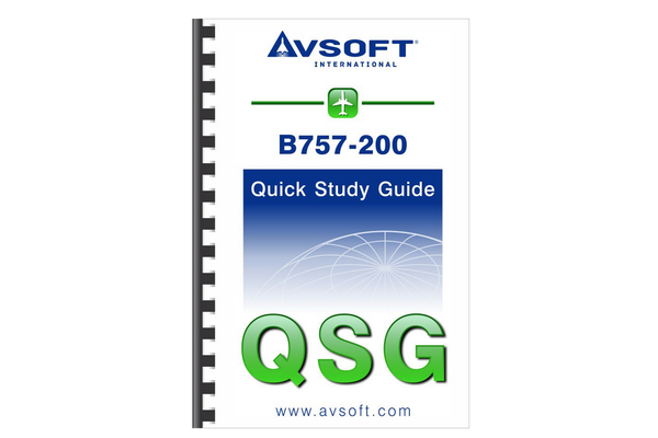 Avsoft Systems,LLC 757-200 Quick Study Guide