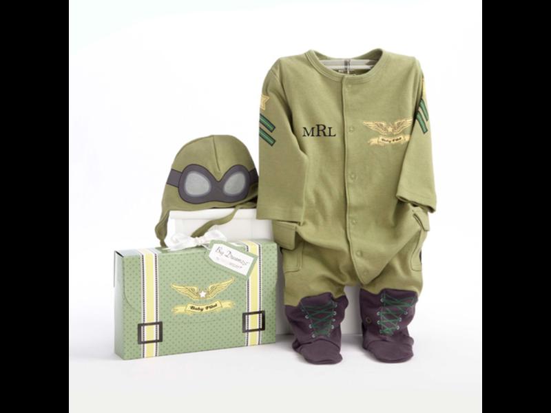 Baby Flight Suit with Cap