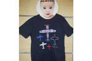 Gymboree Kids Tee Planes