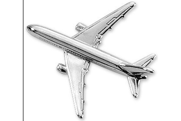 Pin: Boeing 767 Silver