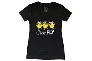 Chicks Fly T-Shirt X-Large