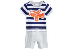 First Impressions, Baby Boy's Airplane Sunsuit