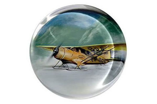 authentic models inc. Paperweight: ALASKA BUSH PLANE