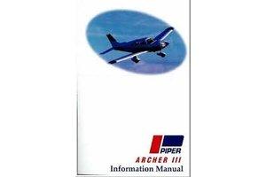 Manual: Piper Archer III PA-28-181