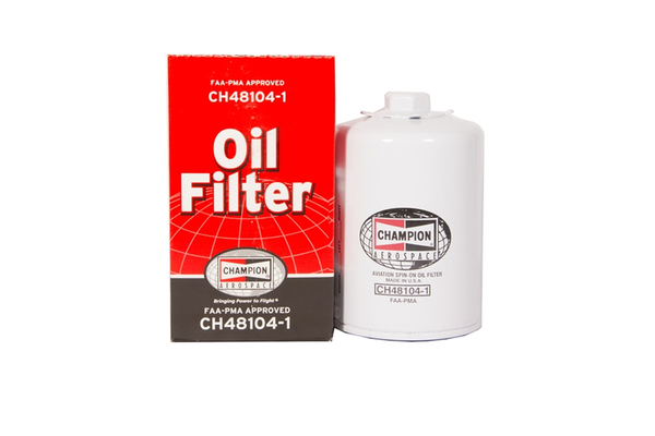 Oil Filter: CH48104-1