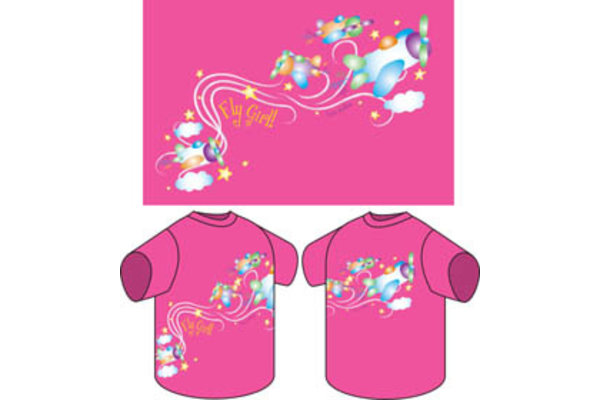Youth T-Shirt: Fly Girl