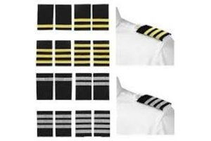 Epaulettes Gold / Black 1