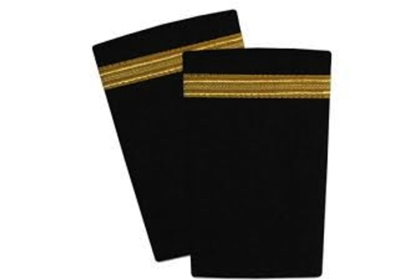 Epaulettes Gold / Black 1