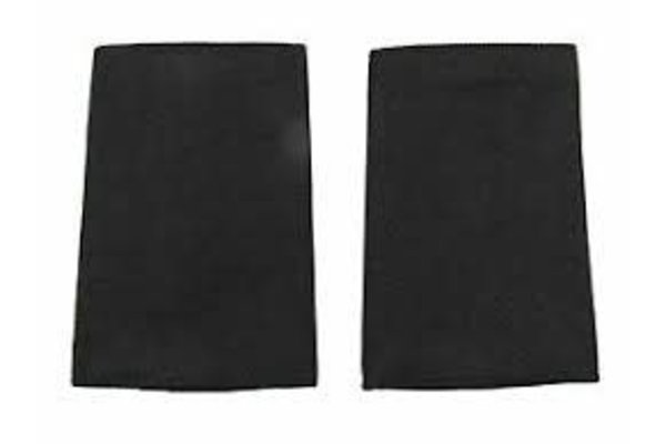 Badges Point Epaulettes No Stripes Black