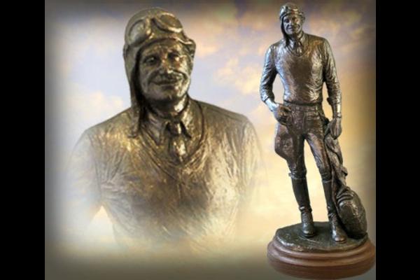 Statue: Spirit of St. Louis Bronzetone