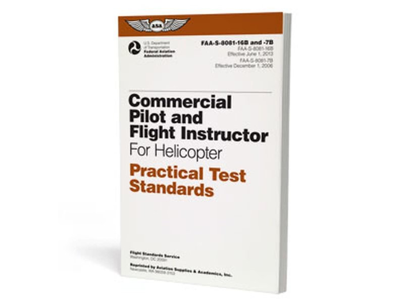 PTS - Commercial Pilot and Flight Instructor Helicopter