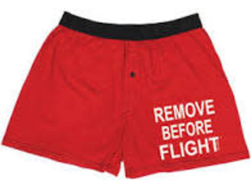 Remove Before Flight Boxers