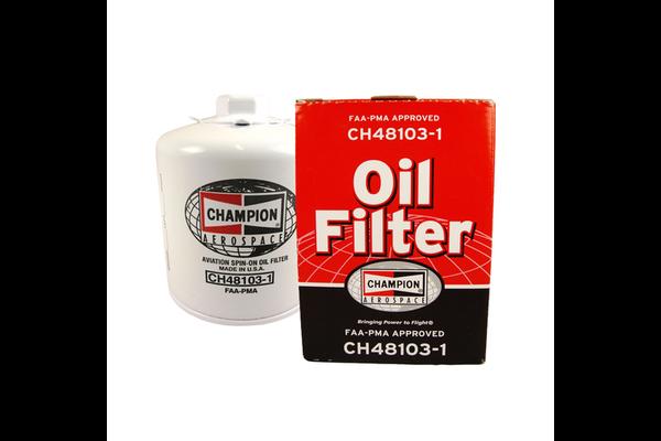 Oil Filter: CH48103-1