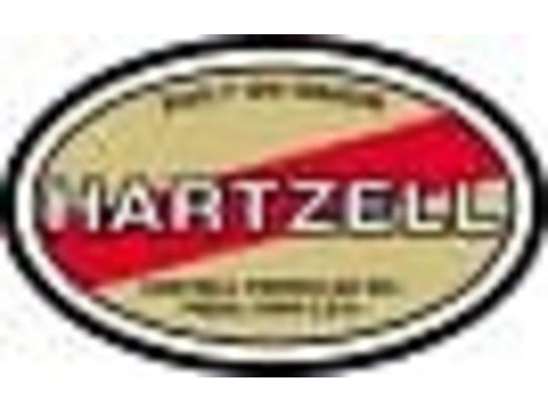 Hartzell Prop Decal Bold Wht