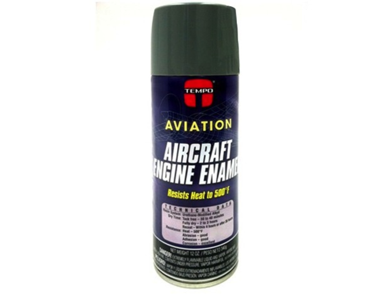 Aircraft Engine Enamel Lycoming Gray