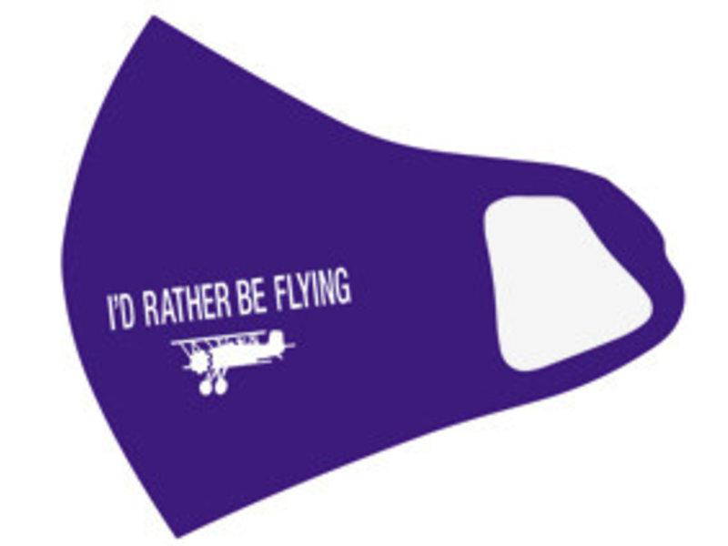 Mask: I'd Rather Be Flying (Blue)