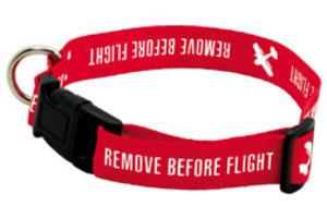 Dog Collar Remove Before Flight