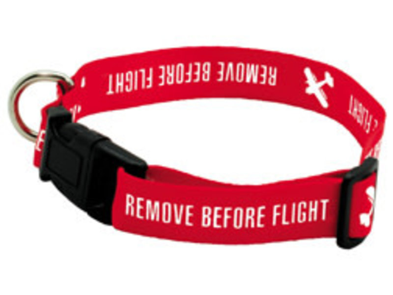 Dog Collar Remove Before Flight