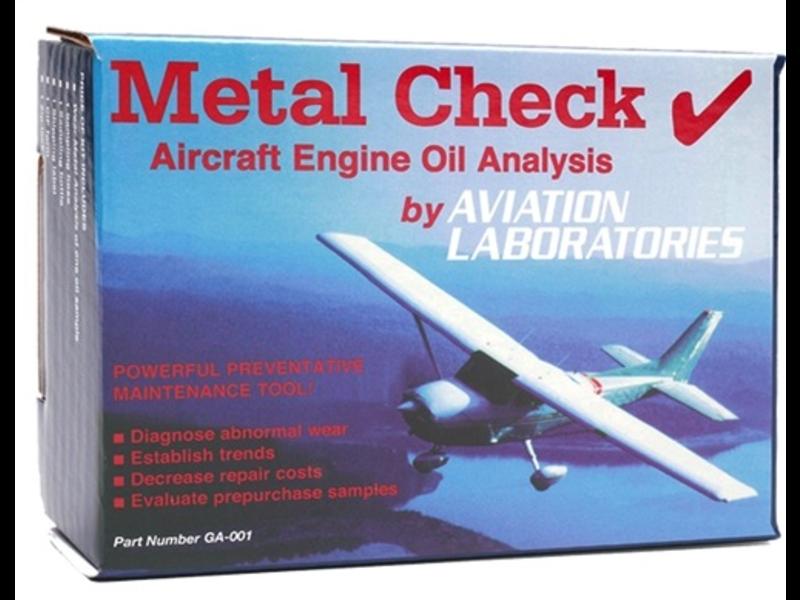 Metal Check Oil Analysis Kit & Shipping