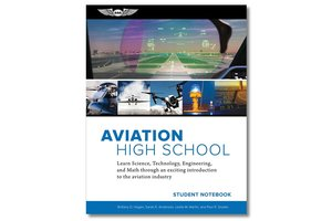 Aviation High School Student Notebook