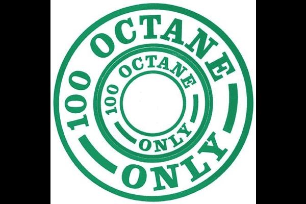 100 Octane (Green) Decal