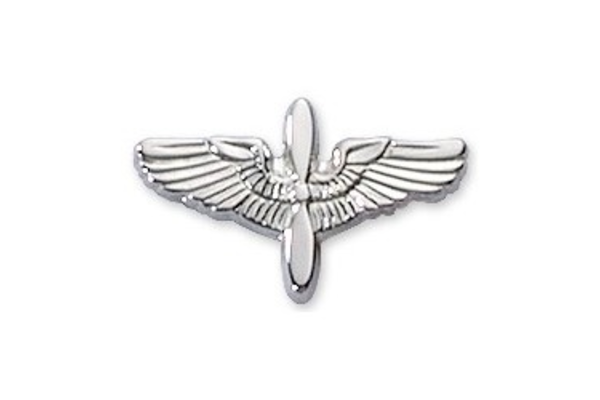 """5/8"""" Prop Wing Silver"""