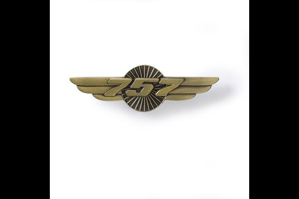 757 Wings Pin