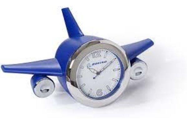 Boeing Airplane Desk Clock - Blue