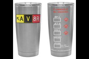 AV8R Tumbler, Stainless, 20 oz