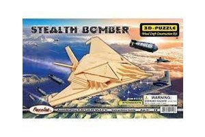 Puzzled, Inc. B2 Stealth Bomber Puzzle 3D