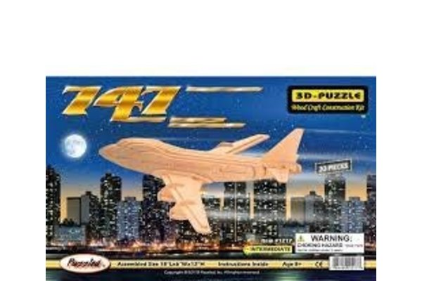Puzzled, Inc. Boeing 747 Puzzle